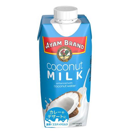 アヤム ココナッツミルク 330ml パック入 マレーシア産 AYAM