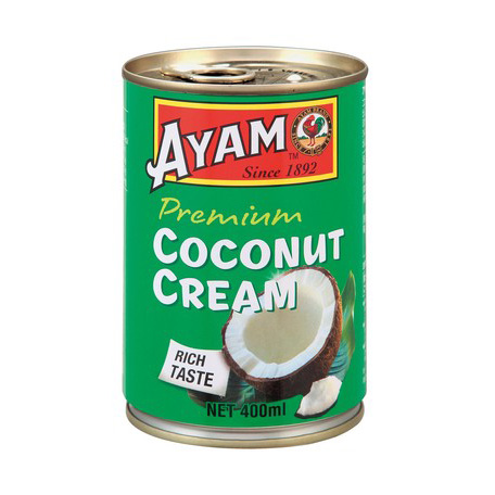 アヤム ココナッツクリーム 400ml 缶入 マレーシア産 AYAM