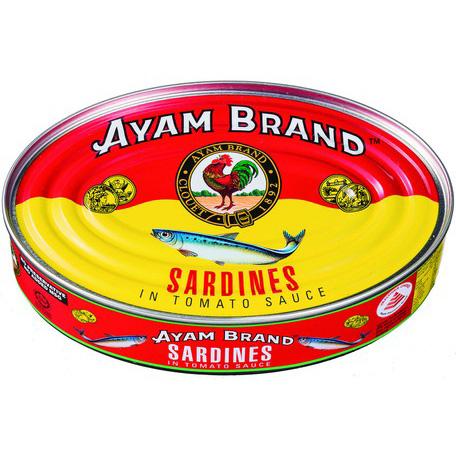アヤム いわしトマトソース煮 缶詰215g マレーシア産 AYAM