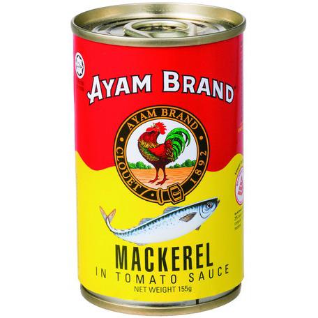 アヤム さばトマトソース煮 缶詰155g マレーシア産 AYAM
