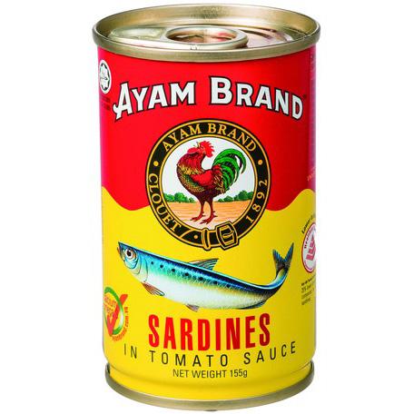 アヤム いわしトマトソース煮 缶詰155g マレーシア産 AYAM