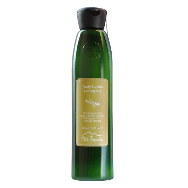 Mt.Sapolaボディローション(ボディケア)220ml レモングラス タイ自然素材マウントサポラ
