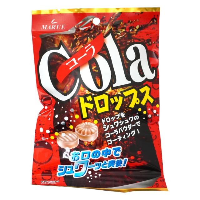 コーラドロップス90g シュワシュワパウダーキャンディー マルエ製菓