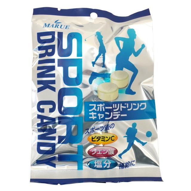 スポーツドリンクキャンディ90g 熱中症対策の塩分補給 ビタミンC・クエン酸入 マルエ製菓
