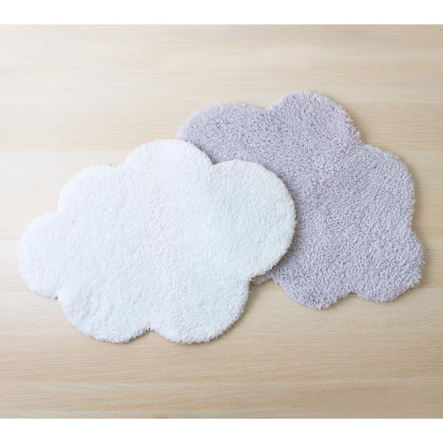Cloudバスマット 雲型 &NE(アンドエヌイー) n.elephant(エヌエレファント) 2色展開