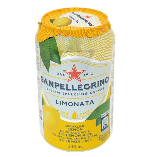 イタリアンスパークリングドリンク SANPELLEGRINO サンペレグリノ リモナータ(レモン果汁入り)330ml