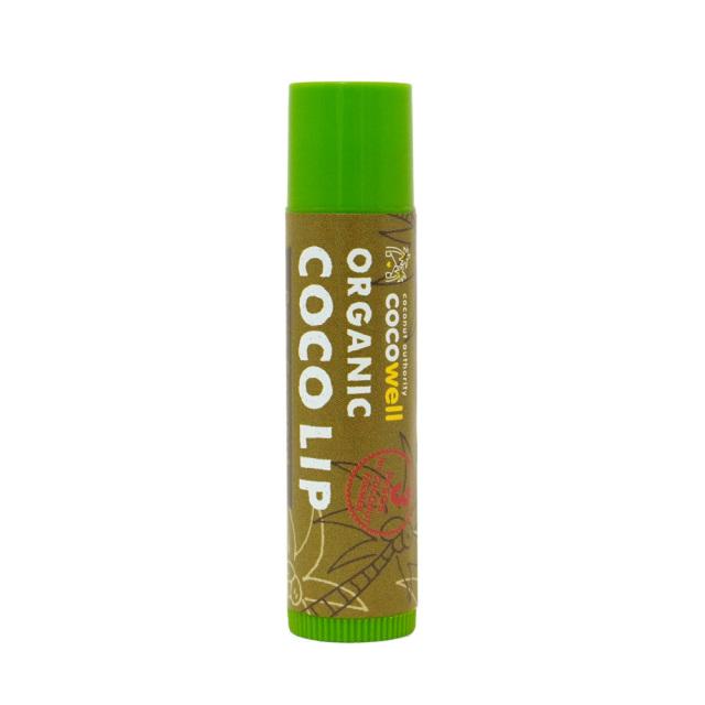 COCOWELL ココウェル オーガニックリップクリーム ピュアココナッツオイル COCO LIP