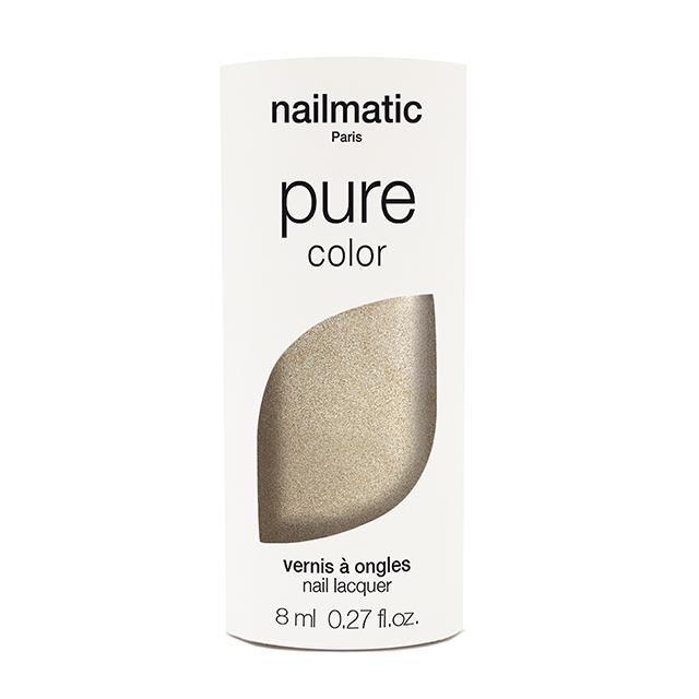 nailmatic pure color GALA ゴールド 8ml 自然由来成分 マニキュア ネイルマティック セルフネイル