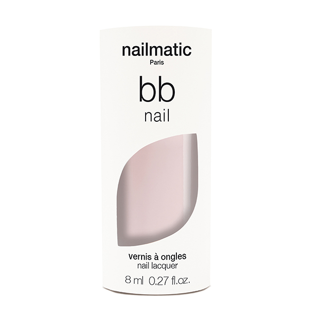 nailmatic BBnail LIGHT ライト 8ml 自然由来成分 マニキュア ネイルマティック セルフネイル ピンクベージュ