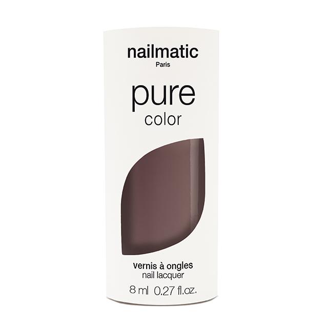 F0028-nailmatic pure color ALAIA トープブラウン 8ml 自然由来成分 マニキュア ネイルマティック セルフネイル