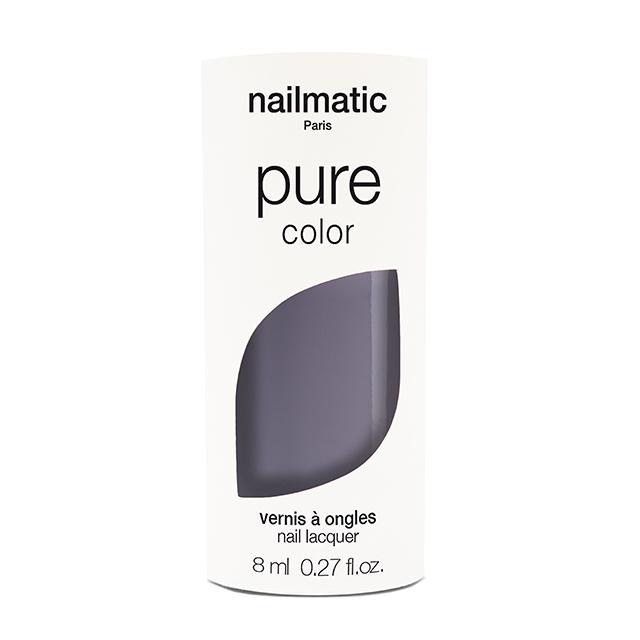 nailmatic pure color AYOKO スレイトグレイ 8ml 自然由来成分 マニキュア ネイルマティック セルフネイル