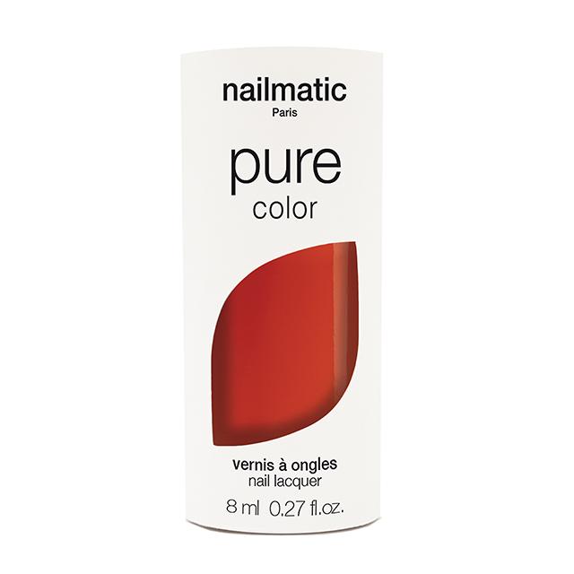 nailmatic pure color GEORGIA ポップレッド 8ml 自然由来成分 マニキュア ネイルマティック セルフネイル