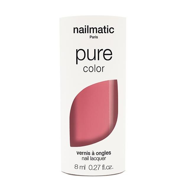 nailmatic pure color EVA コーラルピンク 8ml 自然由来成分 マニキュア ネイルマティック セルフネイル