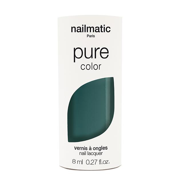 nailmatic pure color MIKY エメラルドグリーン 8ml 自然由来成分 マニキュア ネイルマティック セルフネイル