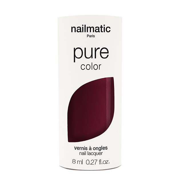 nailmatic pure Color GRACE ディープレッド 8ml 自然由来成分 マニキュア ネイルマティック セルフネイル