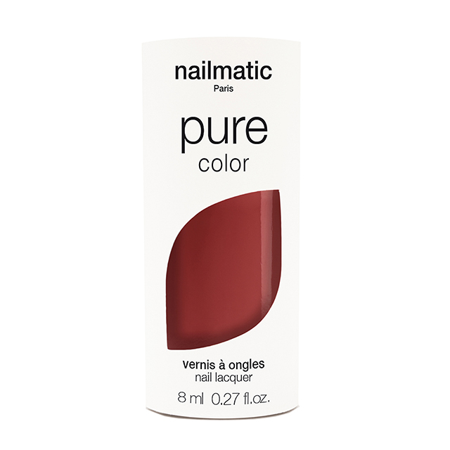 nailmatic pure Color ANOUKローズレッド 8ml 自然由来成分 マニキュア ネイルマティック セルフネイル