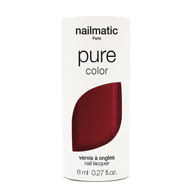 nailmatic pure color KATE バーガンディ 8ml 自然由来成分 マニキュア ネイルマティック セルフネイル ワインレッド