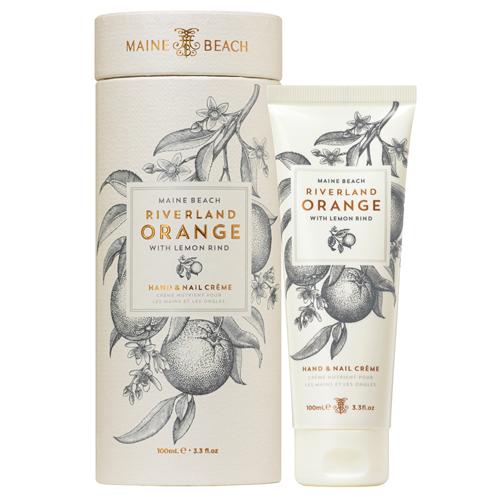 Riverland Orange ハンド&ネイルクリーム リバーランドオレンジ MAINE BEACH マインビーチ
