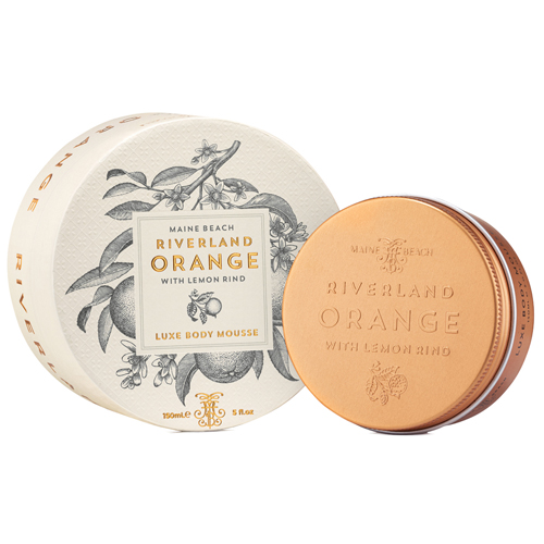 Riverland Orange ボディムース リバーランドオレンジ MAINE BEACH マインビーチ