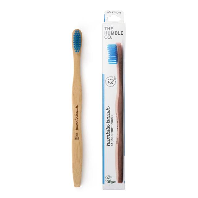 ザ ハンブルコー バンブー歯ブラシやわらかめ ブルー THE HUMBLE CO.