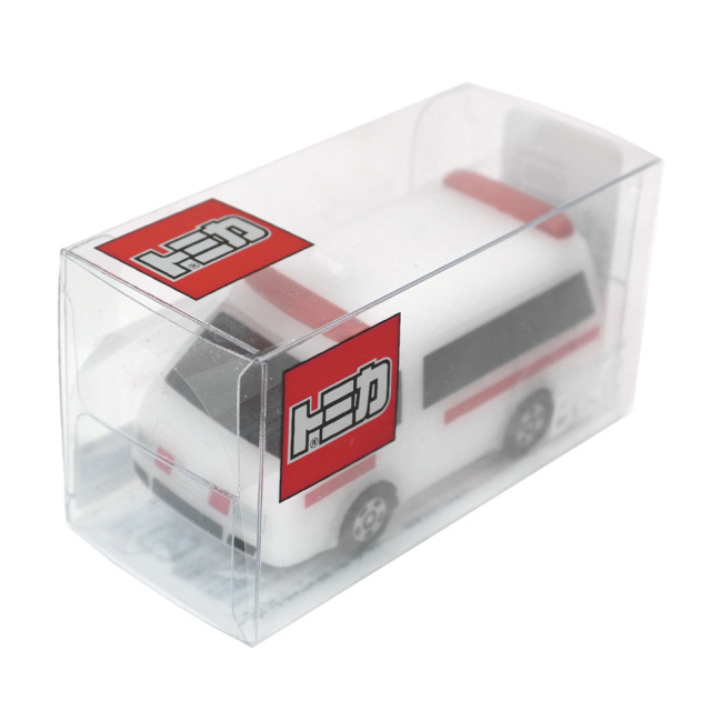 トミカキャンドル 救急車 TOMICA ミニカーろうそく(無香) カメヤマキャンドル