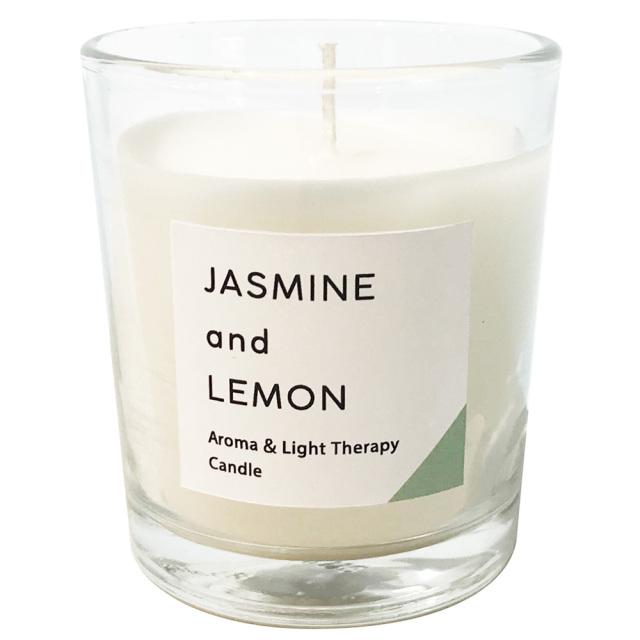 香るキャンドル「ジャスミン&レモン」 アロマ キャンドルウォーマーランプ カメヤマキャンドル
