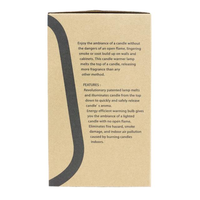 キャンドルウォーマーランプ ミニ アロマキャンドル 照明 ハロゲンライト カメヤマキャンドル 化粧箱