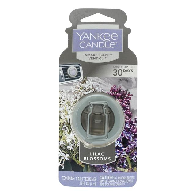 YANKEE CANDLE YCカーフレグランスクリップ30日用 ライラックブロッサム ヤンキーキャンドル