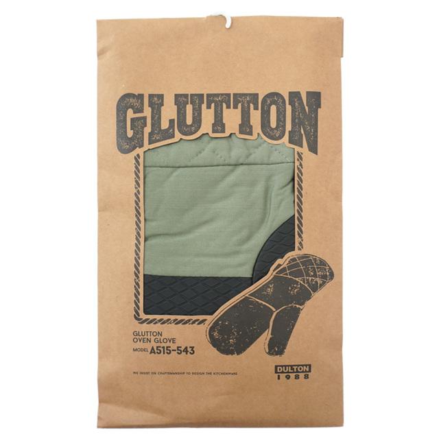 ダルトン(DULTON) GLUTTON オーブングローブ (カーキ) キッチングローブ パッケージ