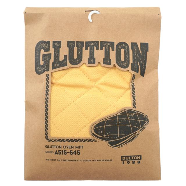 ダルトン(DULTON) GLUTTON オーブンミット(マスタード) キッチングローブ パッケージ