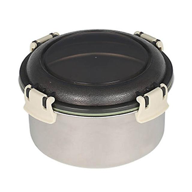 ダルトン(DULTON) フードコンテナ ラウンド M(ベージュ) ステンレス製 保存容器/キャニスター/タッパー