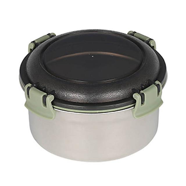 ダルトン(DULTON) フードコンテナ ラウンド M(グリーン) ステンレス製 保存容器/キャニスター/タッパー