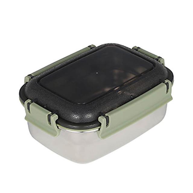 ダルトン(DULTON) フードコンテナ レクタングル M(グリーン) ステンレス製 保存容器/キャニスター/タッパー