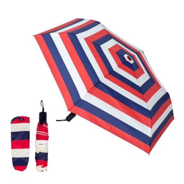 Danke 晴雨兼用折りたたみ傘 Toricolore 超撥水・ハンドル抗菌・UVカット