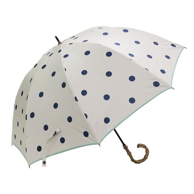 晴雨兼用傘 レディース ショート傘 北欧ポルカドット Lune jumelle(ルナ・ジュメイル)