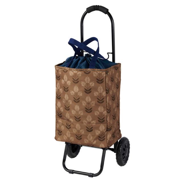 トート ショッピングキャリーカート 2way仕様 ブラウン 保冷 COCORO レップ