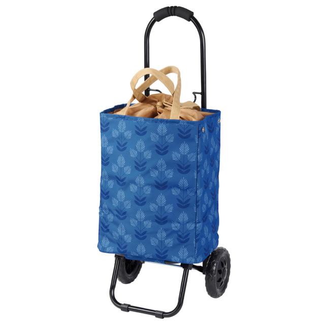 トート ショッピングキャリーカート 2way仕様 ブルー 保冷 COCORO レップ