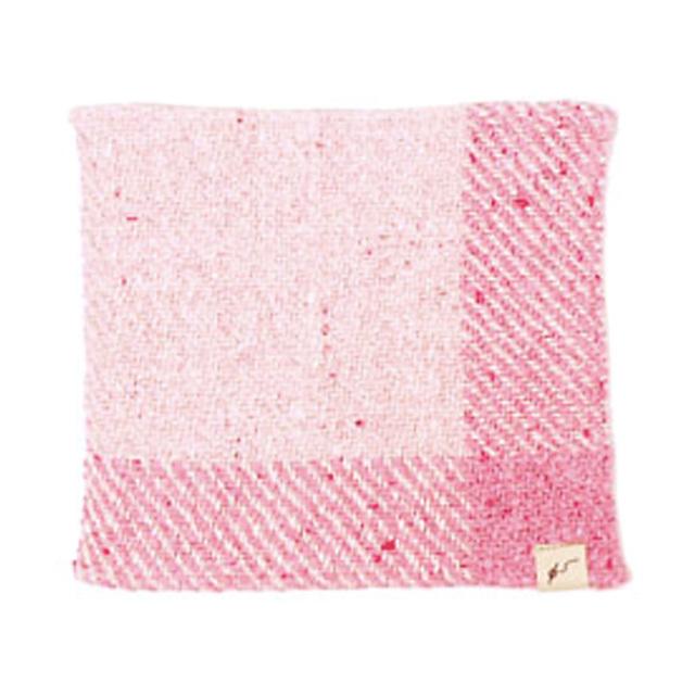 ガラ紡ハンカチ (牡丹) オーガニックコットン100% 抗菌防臭加工 アンドウ