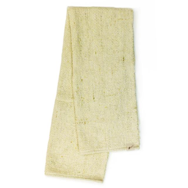 ガラ紡フェイスタオル(萌木) オーガニックコットン100% 抗菌防臭加工 アンドウ