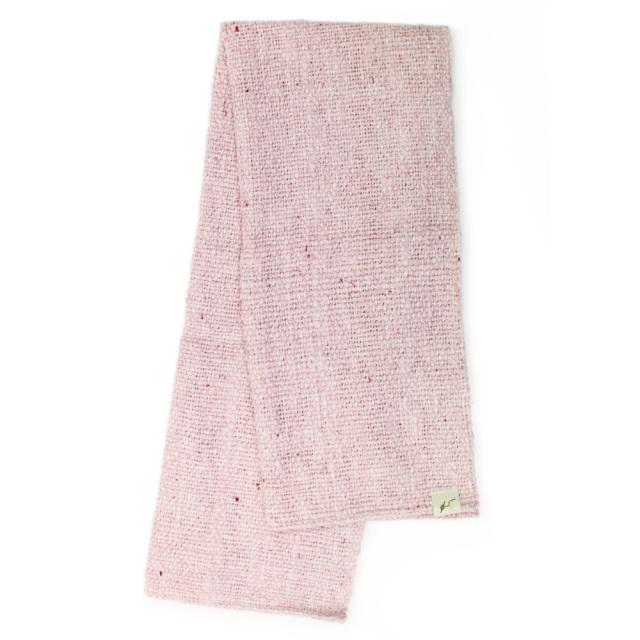 ガラ紡フェイスタオル(紅紫色) オーガニックコットン100% 抗菌防臭加工 アンドウ