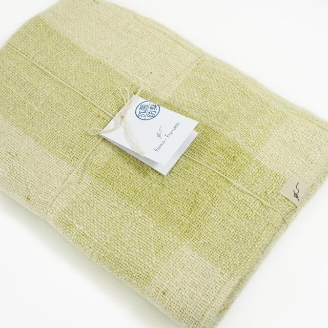 ガラ紡バスタオル(萌木色) オーガニックコットン100% 抗菌防臭加工 アンドウ