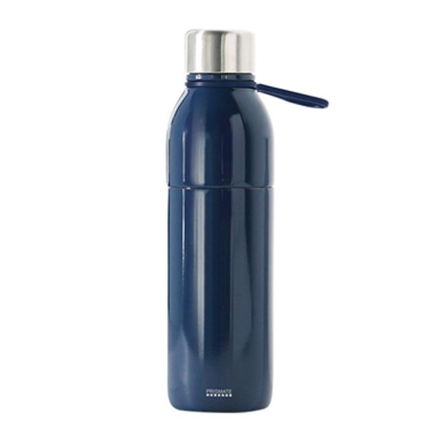 PRISMATE (プリズメイト) すみずみまで洗える2WAYステンレスボトル タンブラーキャップ付 (ネイビー)