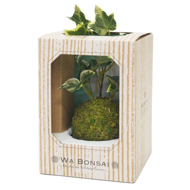 和盆栽 消臭アーティフィシャルグリーン セイヨウツタ 空気清浄 フェイク KISHIMA KH-61058 パッケージ