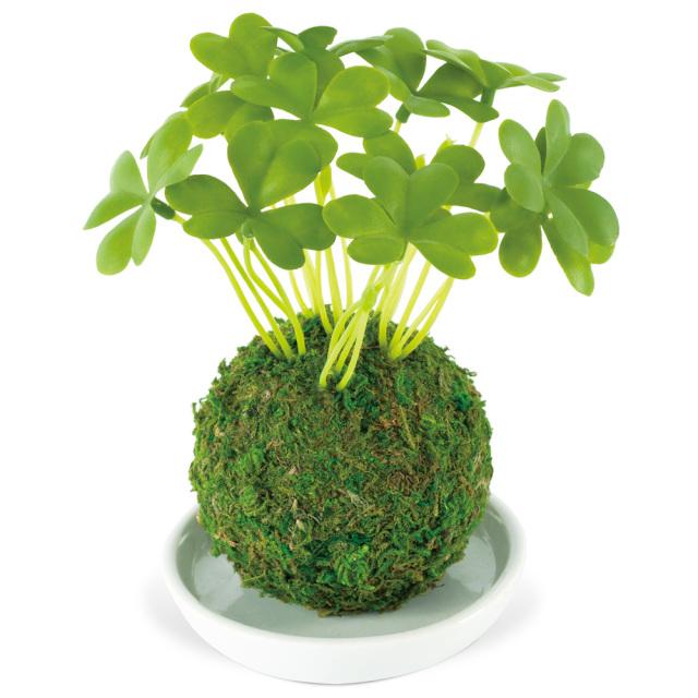 和盆栽 消臭アーティフィシャルグリーン シロツメグサ 空気清浄 フェイク KISHIMA KH-61059