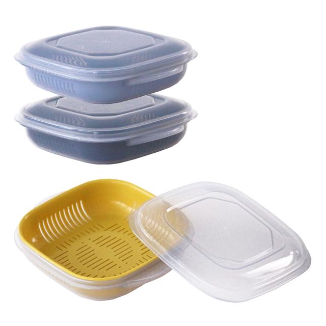 冷凍ご飯もふっくら解凍 Refura(レフラ) 3色セット &NE(アンドエヌイー) n.elephant(エヌ・エレファント) NIK-137