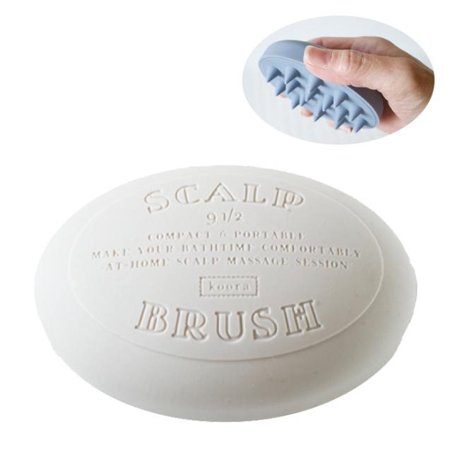 クーラ スカルプブラシ ソープ (クリーム) 石鹸型 R04-1031CR koora