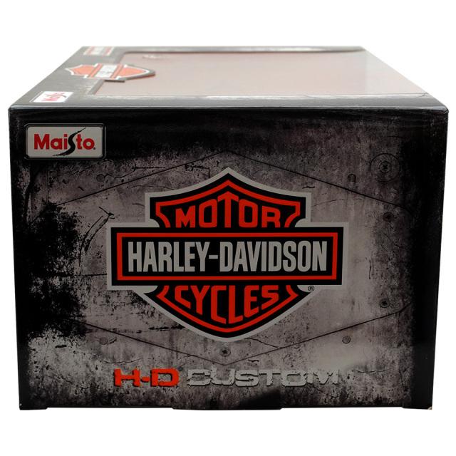 ミニカー ハーレーダヴィッドソン1947 サービスカー 1/18 トライク型 箱全体 MAISTOマイスト