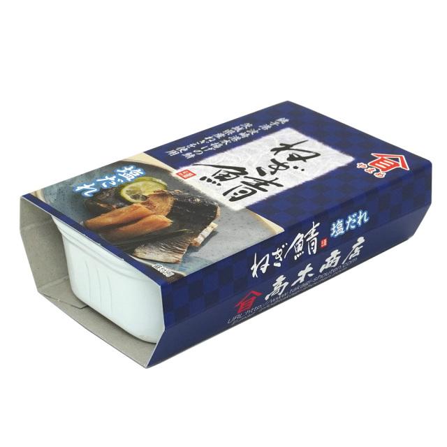 ねぎ鯖塩だれ缶詰100g 茨城県特産品 株式会社高木商店