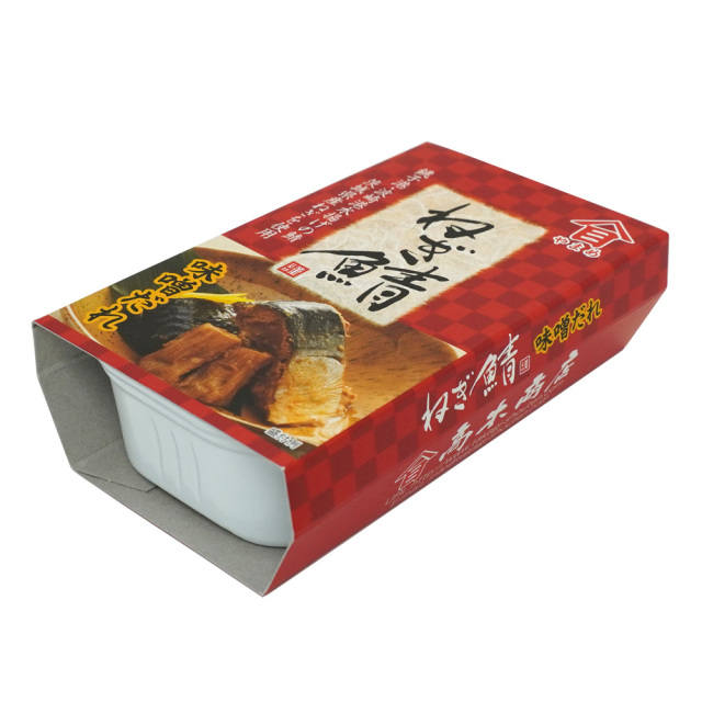 ねぎ鯖味噌だれ缶詰100g 茨城県特産品 株式会社高木商店
