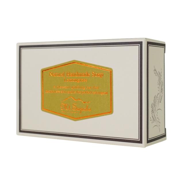 Mt.Sapolaナチュラルソープ レモングラス タイの自然せっけんマウントサポラ箱